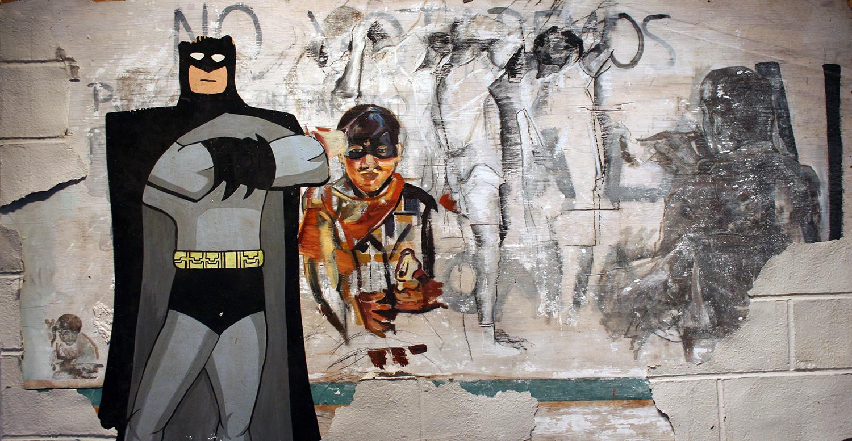 Batman & Robin Do My Dirty Laundry