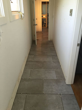 Martha's Vineyard Flooring- Tile Entryway