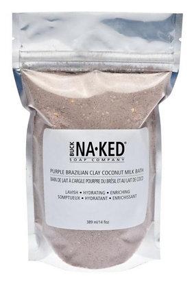 Purple Brazilian Clay Coconut Milk Bath
