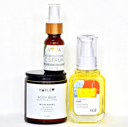 Dry Skin Trio - Hair, Face + Body