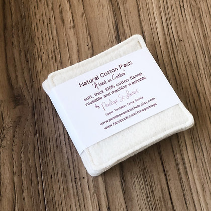 Reusable Cleansing Flannel Squares