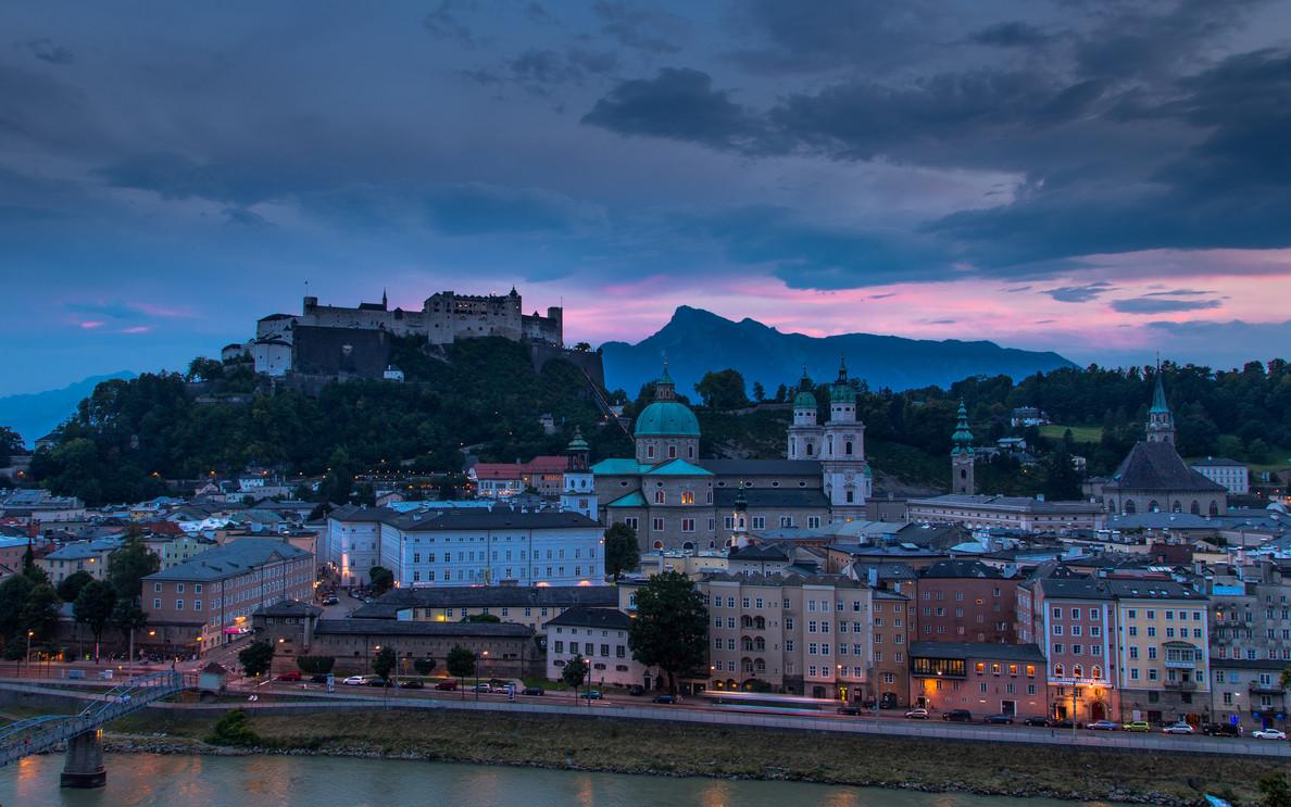 Dusk in Salzburg