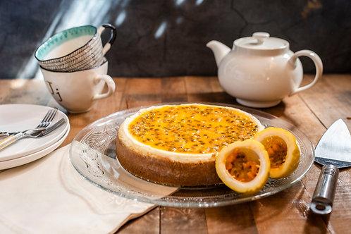 Cheesecake de Maracuyá - Guallarauco