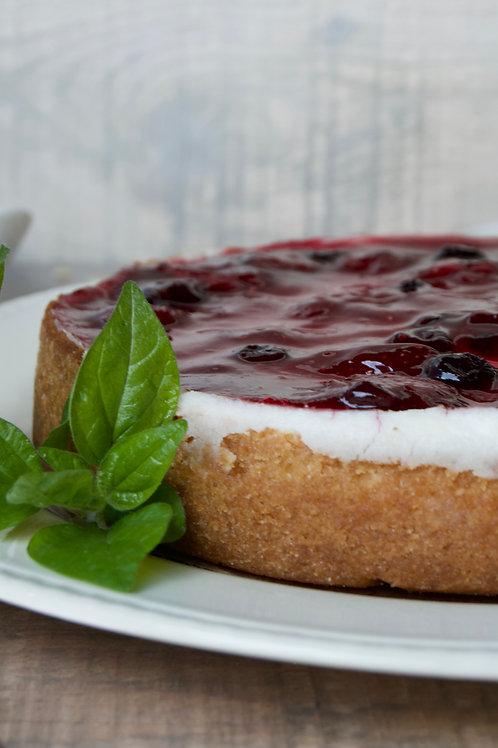 Cheesecake de Frutos Rojos - Guallarauco