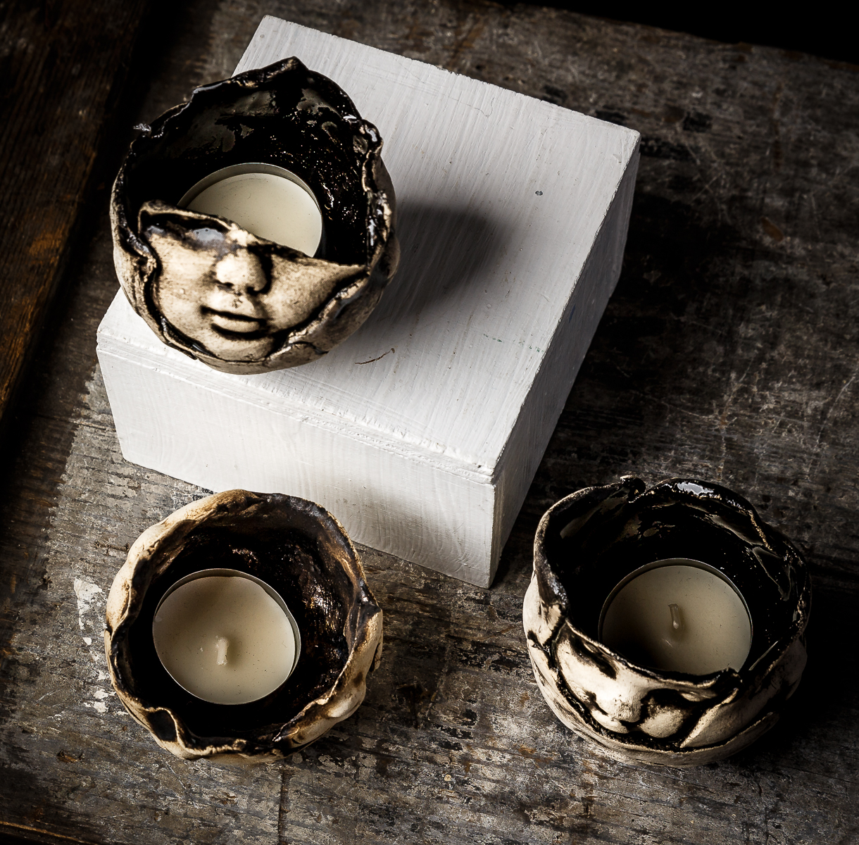 Baby face Tea Lights