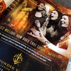 Magazine advertising  for Thunder Valley Casino