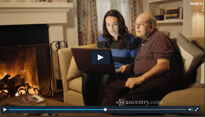 Screen Shot for Ancestry.com Commercial