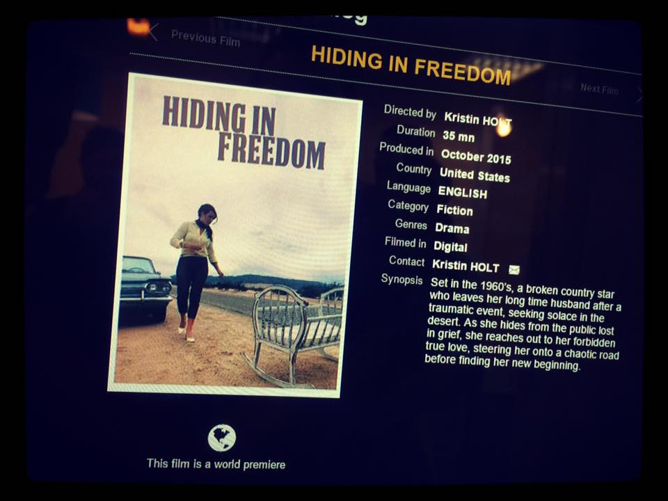 HIF screen shot from Cannes Film Festival