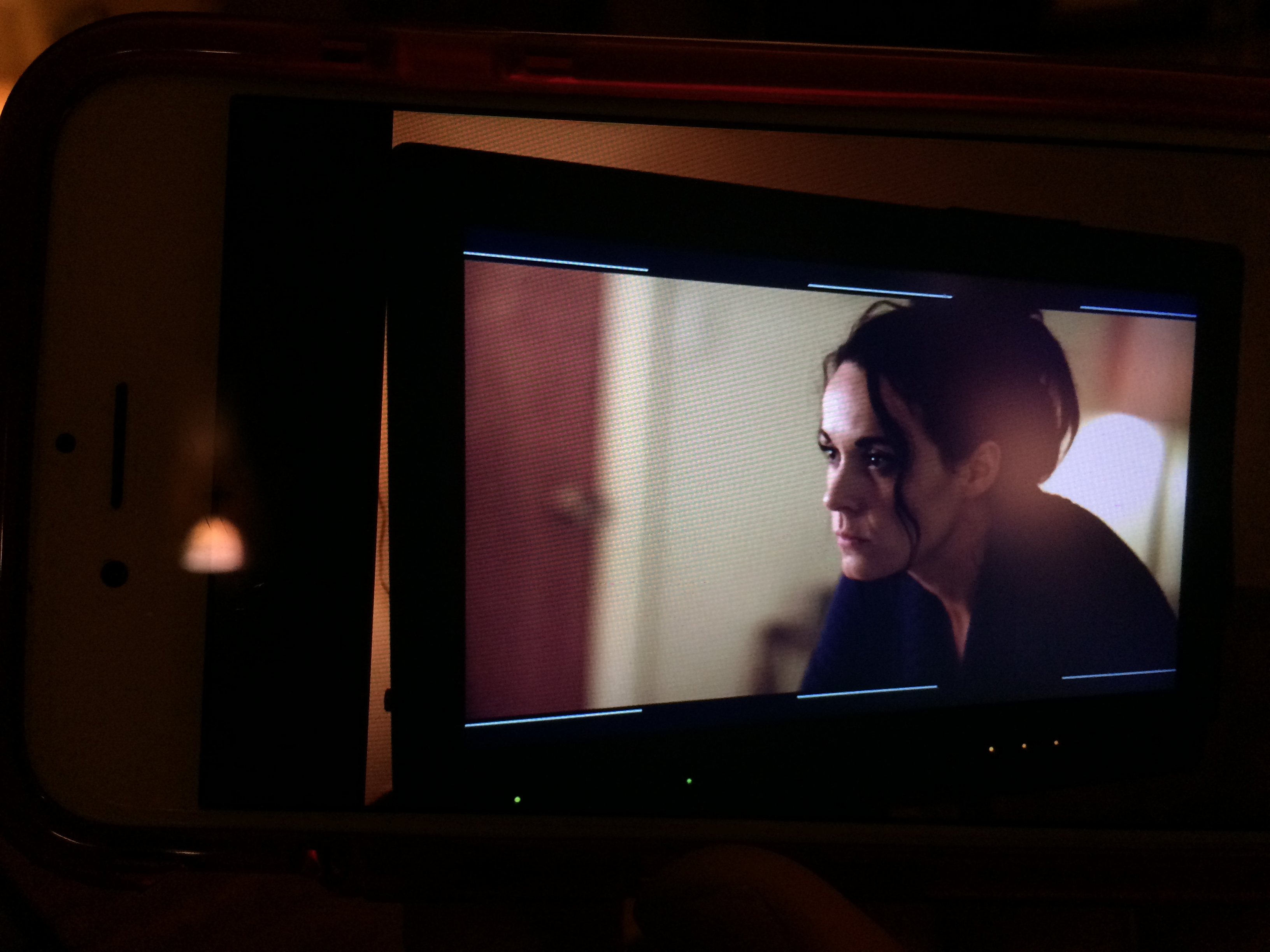 Monitor Still from HIF shoot