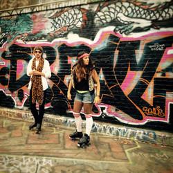 Miles Reed's 'Strange' music video shoot