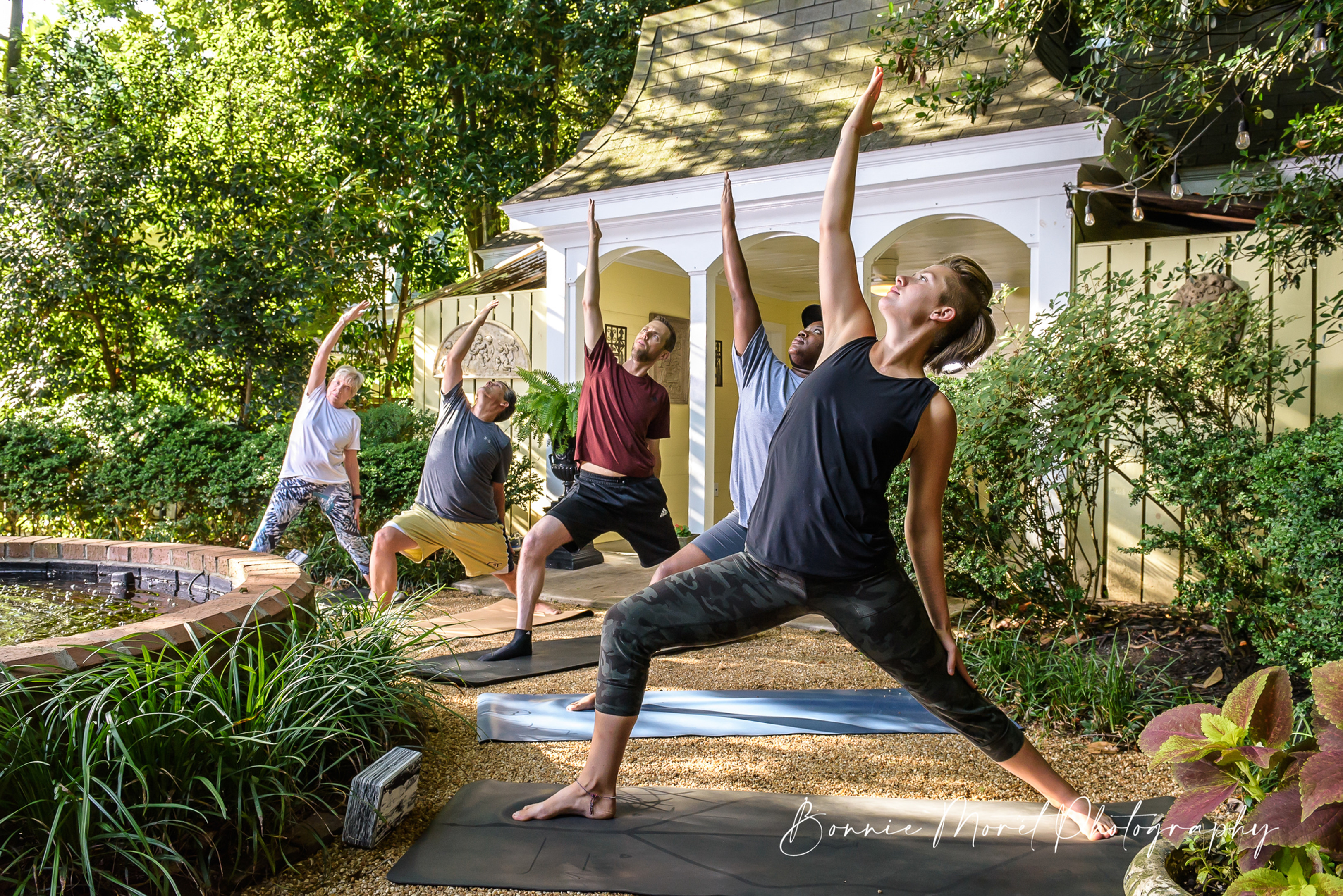 Yoga in the Garden @ The Bell House