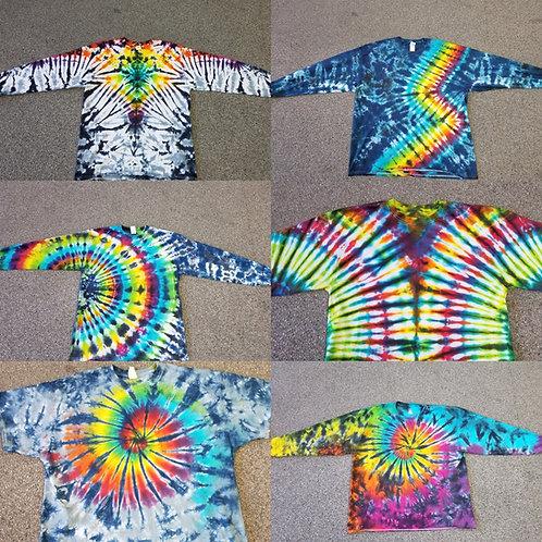 Adult Tie dye Long Sleeve