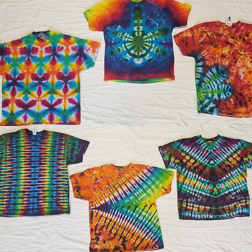 Adult tie dyes