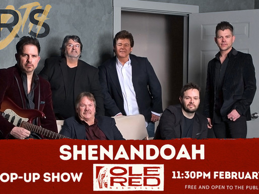 "Shenandoah Announces New Single, ""Little Bit of Livin,"" During CRS Live Performance"
