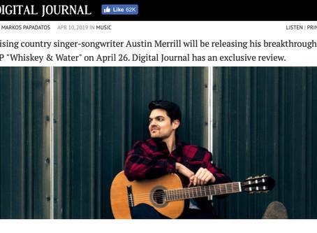 Digital Journal: Austin Merrill Soars on Breakthrough EP 'Whiskey & Water'