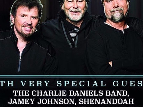 Shenandoah Performs Joins Alabama and Friends for Tornado Relief Concert