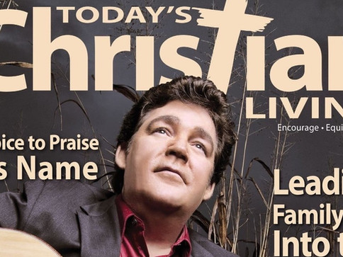 Marty Raybon on the Cover of Today's Christian Living: A Life Transformed by The Master