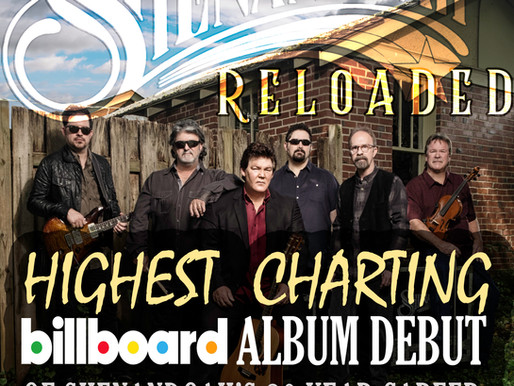 Reloaded is Shenandoah's Highest Billboard Debut of their Career