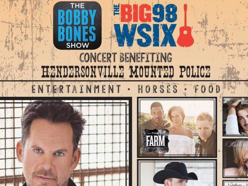 The Farm Partners with WSIX To Perform Concert to Benefit Hendersonville Mounted Police