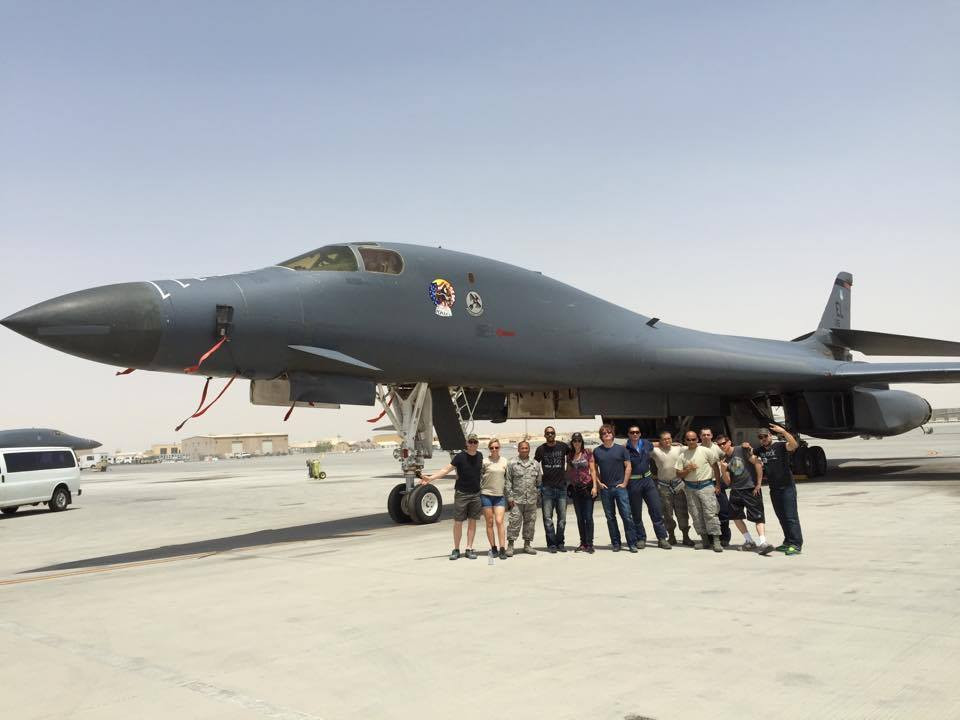 Johnstone Entertainment - The Farm Proud to be Qatar supporting our men and women in uniform