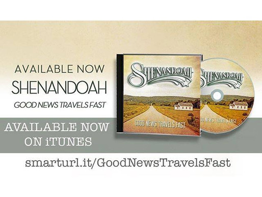 """Shenandoah Releases First Gospel Album, """"Good News Travels Fast"""" on Daywind Records"""