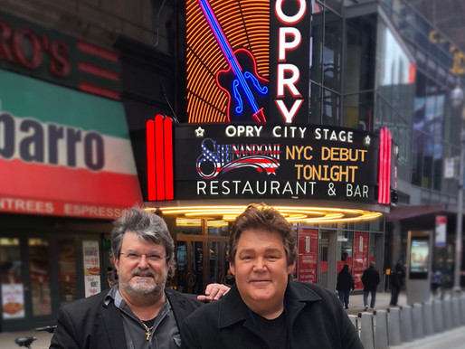 Shenandoah's First NYC Performance Ever at the Opry City Stage NYC