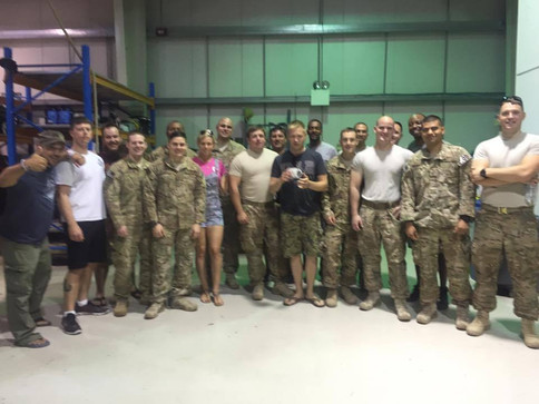 The Farm Celebrates 4th of July in Dubai Supporting Our Troops