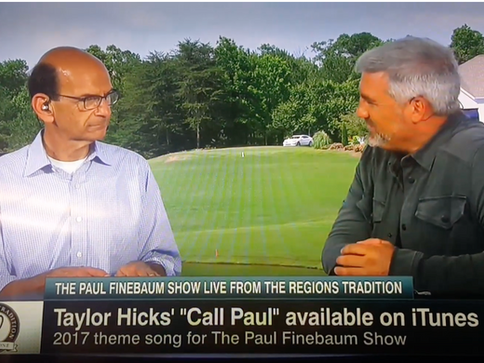 """Taylor Hicks Writes, Records and Produces ESPN Theme Song""""Call Paul"""" for The Paul Finebaum Show"""