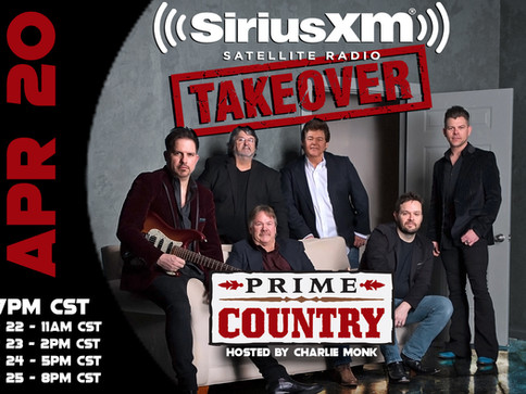 "Shenandoah Takeover SiriusXM & Perform New Single ""Little Bit of Livin'"""