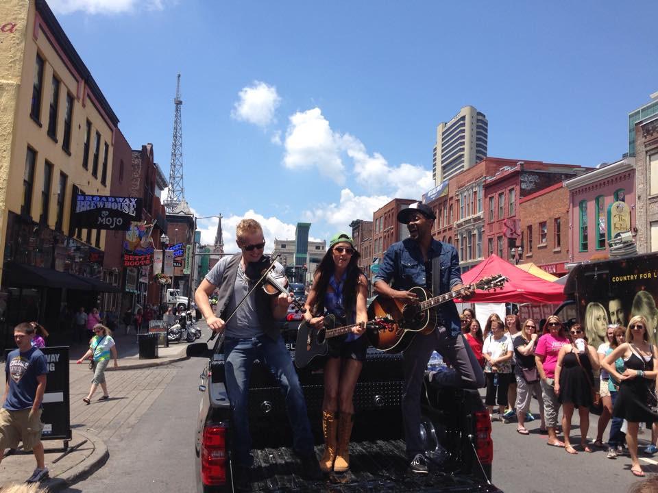 Johnstone Entertainment - The Farm Kicks off CMA Fest with Carl Black Chevy
