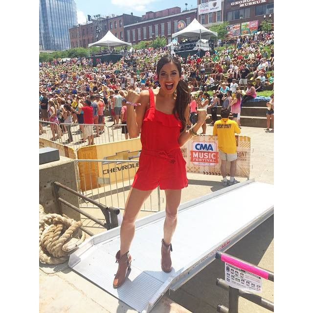 Johnstone Entertainment - Annie Bosko Riverfront Stage at CMA Fest