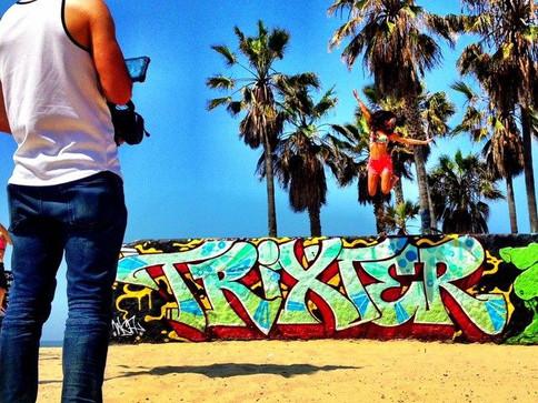 Annie Bosko: Coastin' Video Shoot