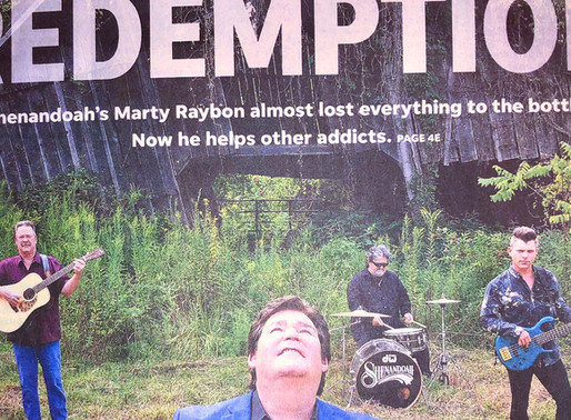 Redemption: Shenandoah's Marty Raybon almost lost everything to the bottle. Now he helps other addic