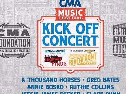 Annie Bosko plays Riverfront Stage at CMA Fest and wins the crowd