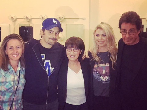 Sandra Lynn and Brad Paisley Perform at Charity Event