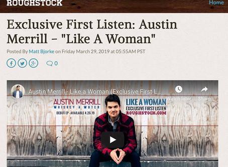 Roughstock Offers Exclusive First Listen of Austin Merrill