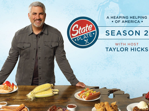 TV Show State Plate returns for Season 2 w/ host Taylor Hicks
