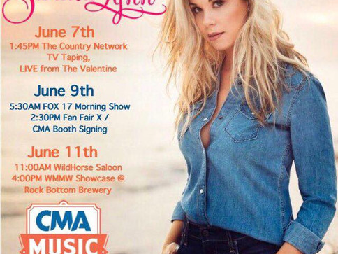 Sandra Lynn to Perform at CMA Fest