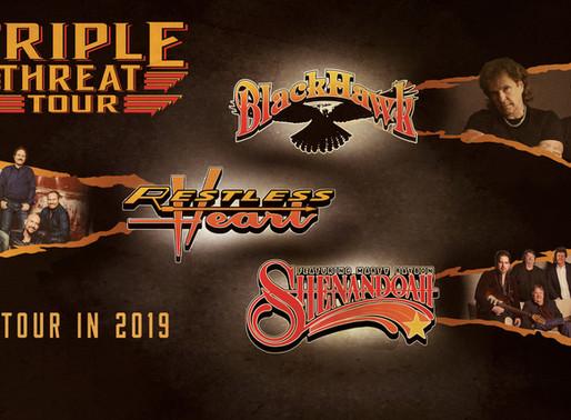Triple Threat Tour: On Tour This Summer (Romeo Entertainment Group)