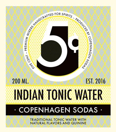 Logo and labels for Copenhagen Sodas mixers handcrafted for spirits Client: Copenhagen Sodas: 2017 Design: Rasmus Meisler