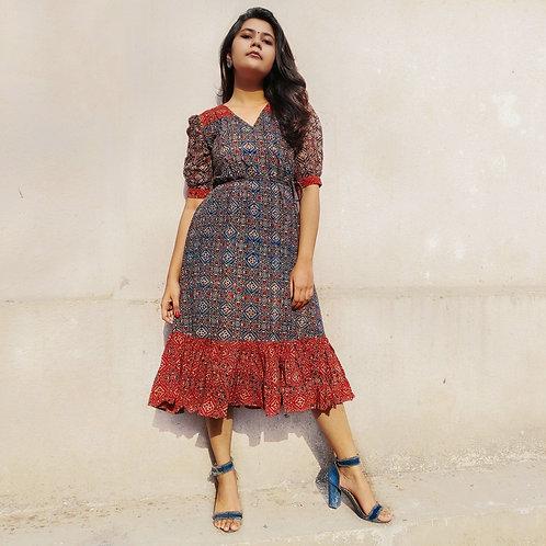 Varahi Ajrak Dress