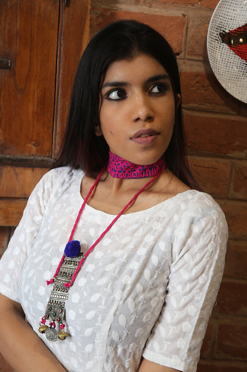 Ajooba 2-in-1 necklace and choker