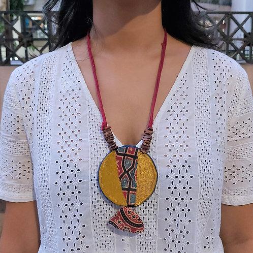 Bohemian Mashru Necklace