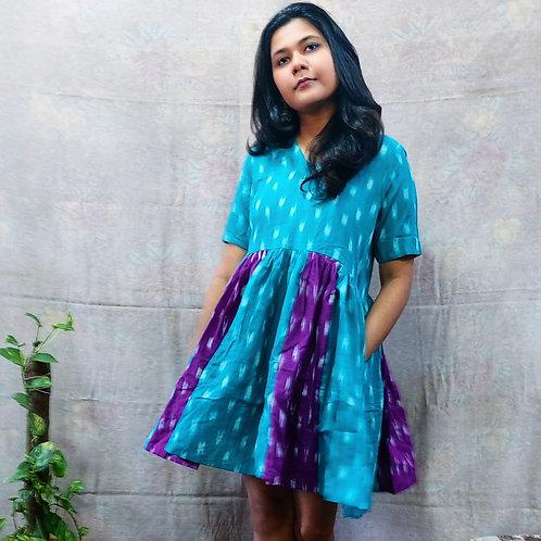 Kriti Ikat Dress