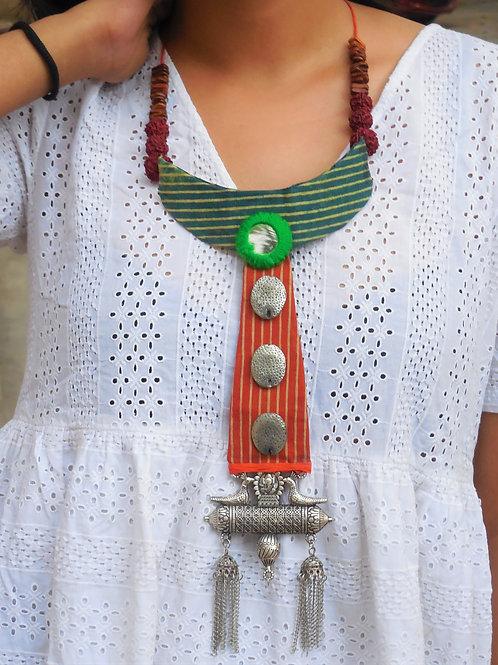 Handmade Statement bohemian necklace