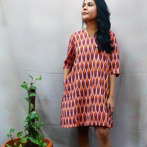 Kastha Ikat Dress