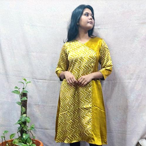 Shatakshi Mashru Silk Dress