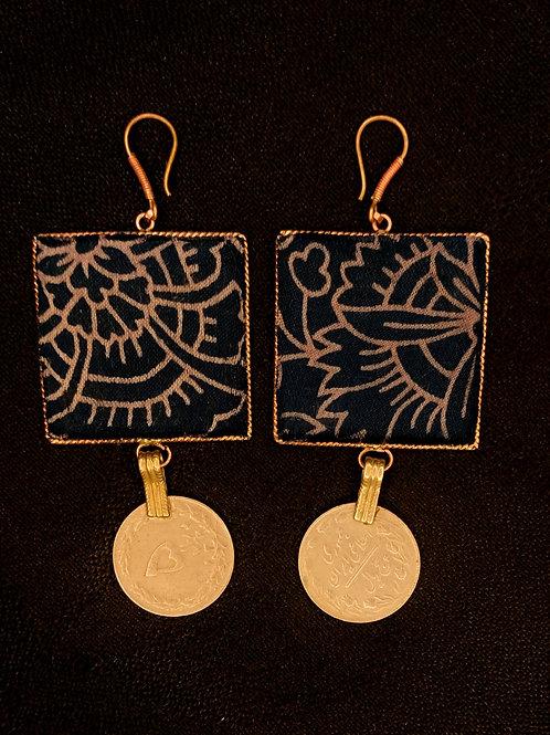 Handmade upcycled earrings