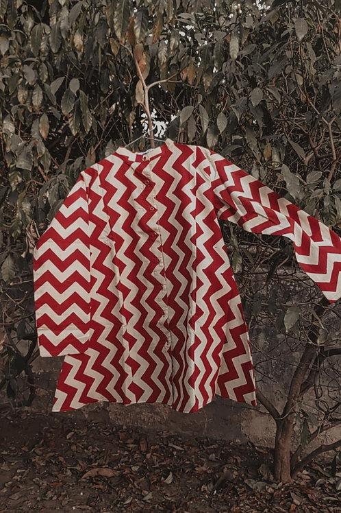Bagru print shirt