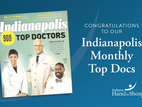Indiana Hand to Shoulder Center Surgeons Named As 2020 Top Doctors